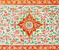 плитка текстуры картины цветка Стоковые Изображения RF