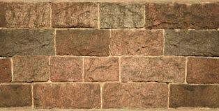 плитка текстуры кирпича каменная Стоковое Изображение