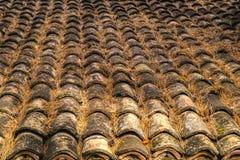 Плитка толя старой глины керамическая Стоковое фото RF