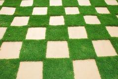 Плитка травы Стоковые Изображения