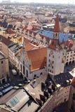 плитка 2 крыш Германии munich Стоковые Фотографии RF