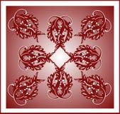 плитка burgundy Стоковое фото RF