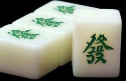 плитка mahjong Стоковое Изображение