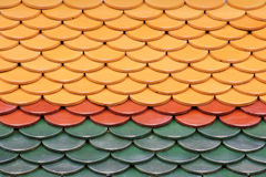 плитки виска тайские Стоковое Изображение