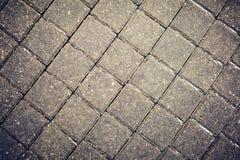 Плитки дороги серые стоковая фотография rf