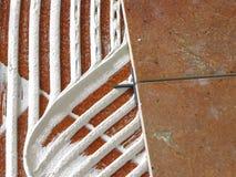 плитки клея Стоковые Фото