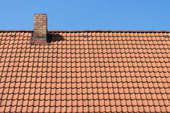 плитки крыши дома Стоковые Изображения RF