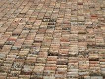 плитки крыши замока Стоковое Изображение RF