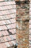 плитки крыши печной трубы Стоковая Фотография