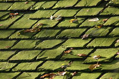 плитки крыши предпосылки старые Стоковые Фотографии RF