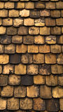 плитки крыши шахты старые Стоковая Фотография RF