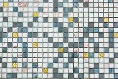 Плитки мозаики делают по образцу безшовное для украшения стоковое фото