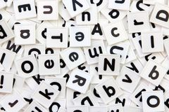плитки письма Стоковые Изображения RF