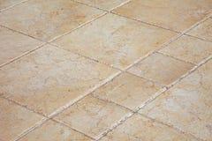 плитки пола большие каменные Стоковая Фотография