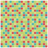 плитки синего стекла зеленые красные Стоковые Фото