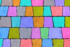 Плитки стены сделанные естественного камня Стоковое Изображение