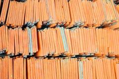 плитки текстуры крыши Стоковые Изображения RF