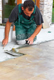 плитки установки пола Стоковые Фото