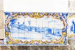 Плитки (azulejos), Португалия Стоковые Изображения RF