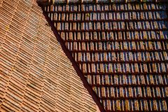 плитки seville Испании крыши строба крепости carmona стоковые изображения
