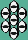 Плитки Shiva стоковые изображения