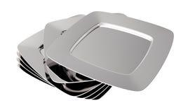 плиты Стоковая Фотография RF