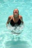пловец подростковый Стоковое фото RF