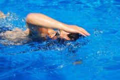 пловец Стоковая Фотография
