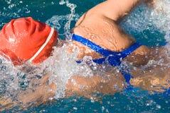 пловец Стоковые Фото