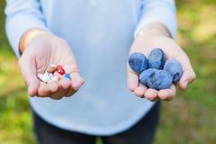 Плодоовощи вместо лекарств стоковая фотография