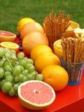 Плодоовощи и заедки стоковые фотографии rf
