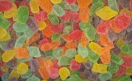 Плодоовощи конфеты красочных помадок мягкие Стоковые Фото