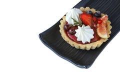 плодоовощи смешали пирог стоковая фотография rf