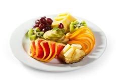 плодоовощи тарелки Стоковое Фото