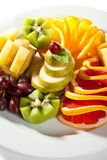 плодоовощи тарелки Стоковое фото RF