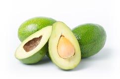 Плодоовощ авокадоа на белой предпосылке Стоковые Фотографии RF