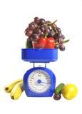 плодоовощ вычисляет по маштабу овощи Стоковое Фото
