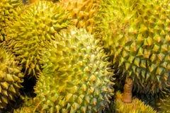 Плодоовощ дуриана на азиатском рынке Стоковая Фотография RF