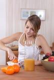 Плодоовощ завтрака Стоковое Изображение RF