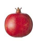 плодоовощ изолировал белизну pomegranate Стоковые Фото