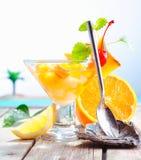плодоовощ коктеила цветастый экзотический Стоковая Фотография RF