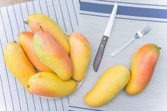 Плодоовощ манго, плодоовощ на лете Стоковое Изображение RF