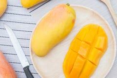 Плодоовощ манго, плодоовощ на лете Стоковое Фото