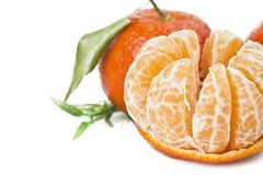 Плодоовощ мандарина или tangerine Стоковые Фото