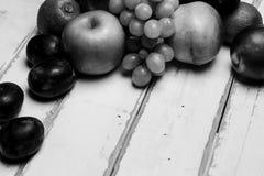Плодоовощ на таблице Стоковые Фото