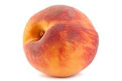 Плодоовощ персика на белизне Стоковая Фотография