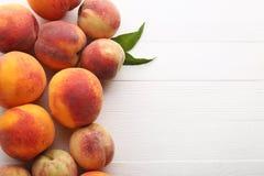Плодоовощ персиков Стоковое Изображение RF