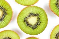 плодоовощ предпосылки изолировал белизну кивиа Стоковая Фотография