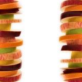 плодоовощ рамки Стоковые Изображения RF