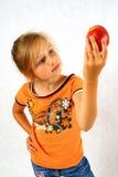 плодоовощ ребенка счастливый Стоковая Фотография RF